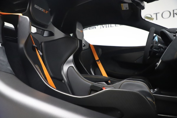 Used 2019 McLaren 600LT for sale $255,900 at Bugatti of Greenwich in Greenwich CT 06830 21