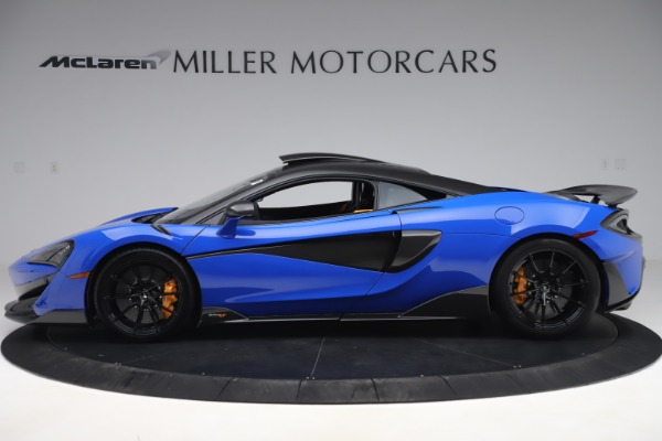 Used 2019 McLaren 600LT for sale $255,900 at Bugatti of Greenwich in Greenwich CT 06830 3