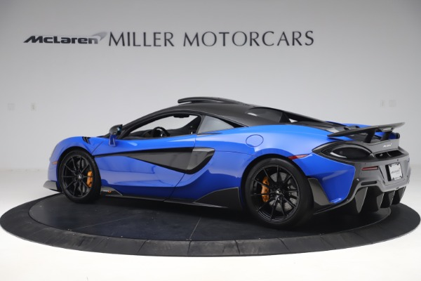 Used 2019 McLaren 600LT for sale $255,900 at Bugatti of Greenwich in Greenwich CT 06830 4