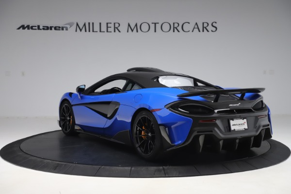 Used 2019 McLaren 600LT for sale $255,900 at Bugatti of Greenwich in Greenwich CT 06830 5