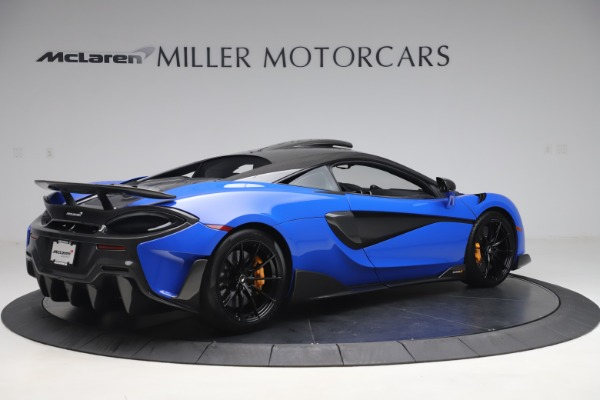 Used 2019 McLaren 600LT for sale $255,900 at Bugatti of Greenwich in Greenwich CT 06830 8
