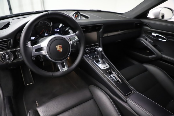 Used 2015 Porsche 911 Turbo S for sale $121,900 at Bugatti of Greenwich in Greenwich CT 06830 13