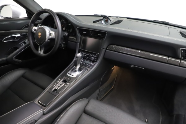 Used 2015 Porsche 911 Turbo S for sale $121,900 at Bugatti of Greenwich in Greenwich CT 06830 16