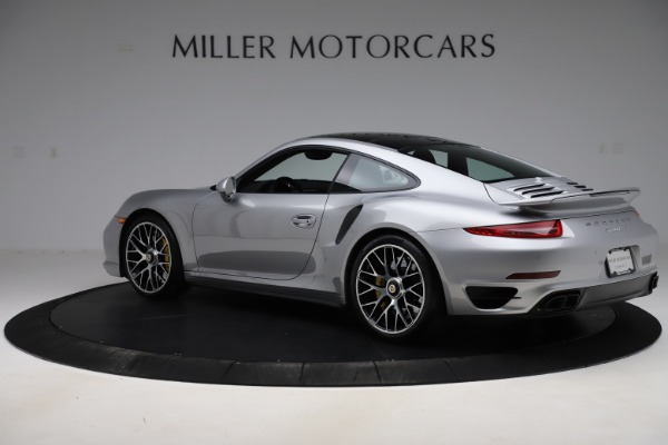 Used 2015 Porsche 911 Turbo S for sale $121,900 at Bugatti of Greenwich in Greenwich CT 06830 4