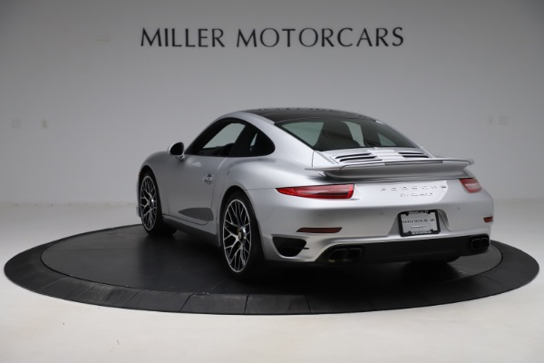 Used 2015 Porsche 911 Turbo S for sale $121,900 at Bugatti of Greenwich in Greenwich CT 06830 5