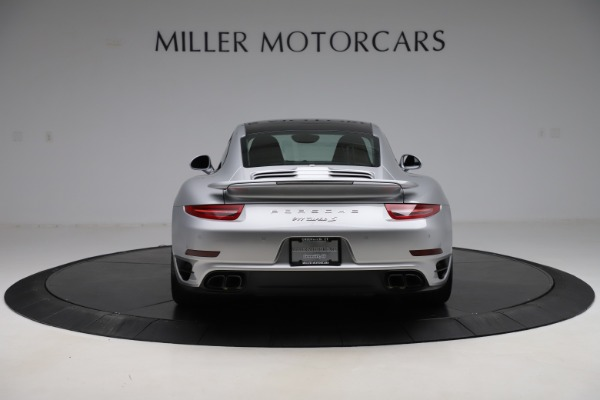 Used 2015 Porsche 911 Turbo S for sale $121,900 at Bugatti of Greenwich in Greenwich CT 06830 6