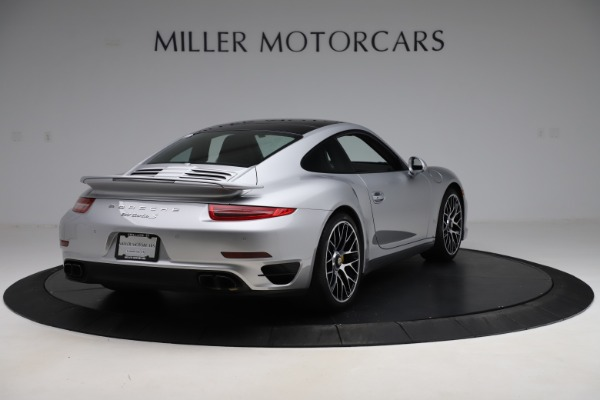 Used 2015 Porsche 911 Turbo S for sale $121,900 at Bugatti of Greenwich in Greenwich CT 06830 7