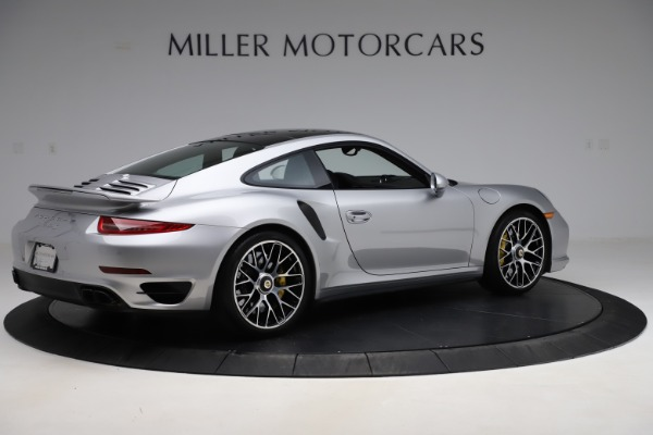 Used 2015 Porsche 911 Turbo S for sale $121,900 at Bugatti of Greenwich in Greenwich CT 06830 8