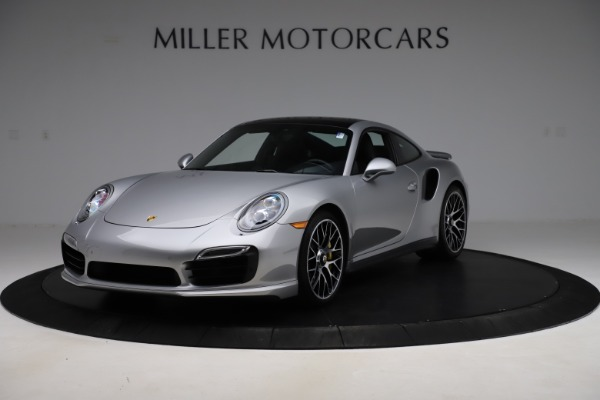 Used 2015 Porsche 911 Turbo S for sale $121,900 at Bugatti of Greenwich in Greenwich CT 06830 1