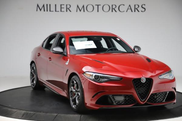 New 2020 Alfa Romeo Giulia Quadrifoglio for sale $83,590 at Bugatti of Greenwich in Greenwich CT 06830 11