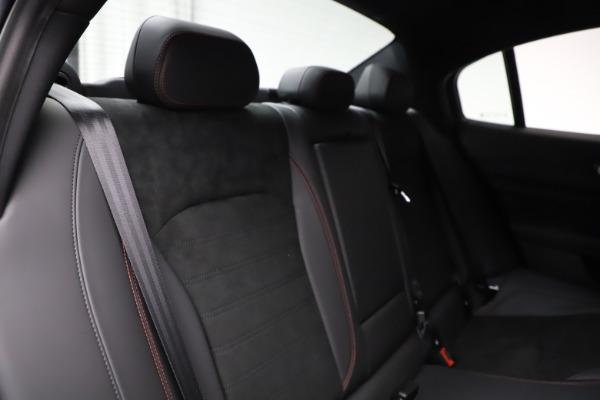 New 2020 Alfa Romeo Giulia Quadrifoglio for sale $83,590 at Bugatti of Greenwich in Greenwich CT 06830 26