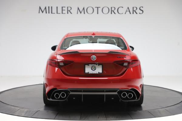 New 2020 Alfa Romeo Giulia Quadrifoglio for sale $83,590 at Bugatti of Greenwich in Greenwich CT 06830 6