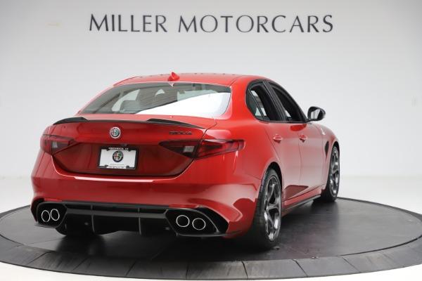 New 2020 Alfa Romeo Giulia Quadrifoglio for sale $83,590 at Bugatti of Greenwich in Greenwich CT 06830 7