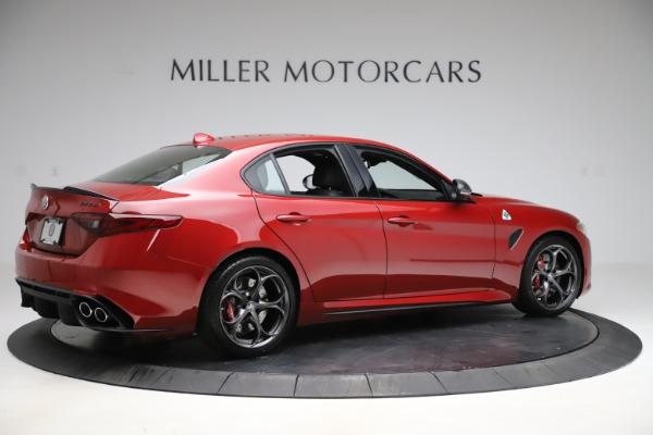 New 2020 Alfa Romeo Giulia Quadrifoglio for sale $83,590 at Bugatti of Greenwich in Greenwich CT 06830 8