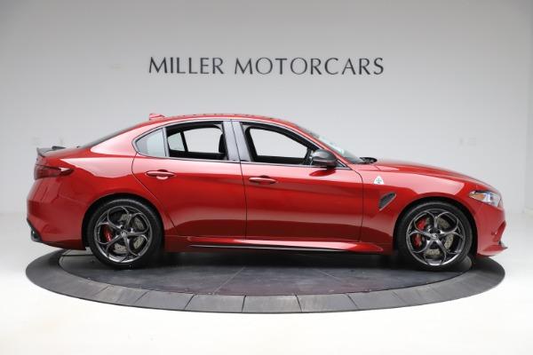 New 2020 Alfa Romeo Giulia Quadrifoglio for sale $83,590 at Bugatti of Greenwich in Greenwich CT 06830 9