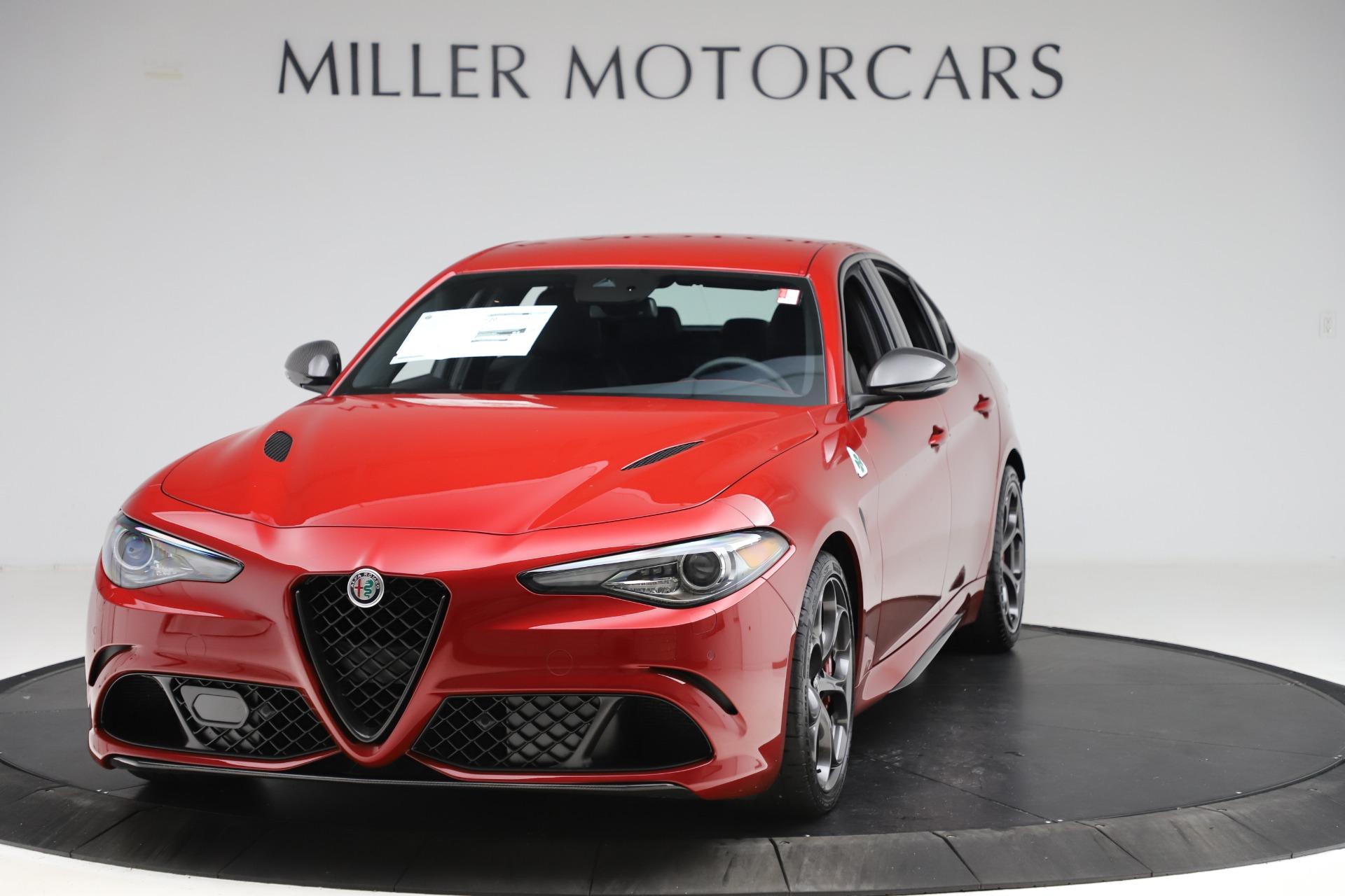 New 2020 Alfa Romeo Giulia Quadrifoglio for sale $83,590 at Bugatti of Greenwich in Greenwich CT 06830 1