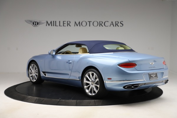 New 2020 Bentley Continental GTC V8 for sale $261,455 at Bugatti of Greenwich in Greenwich CT 06830 13