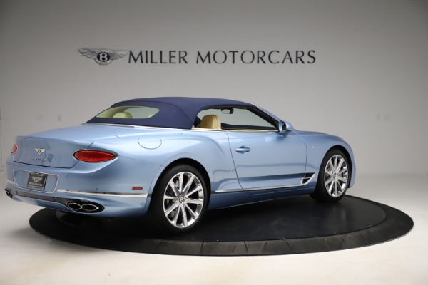 New 2020 Bentley Continental GTC V8 for sale $261,455 at Bugatti of Greenwich in Greenwich CT 06830 16