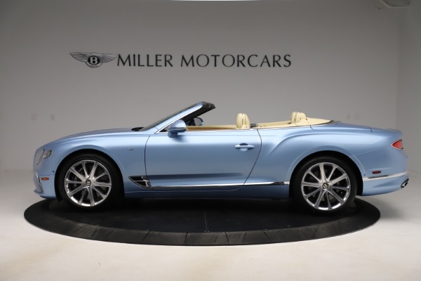 New 2020 Bentley Continental GTC V8 for sale $261,455 at Bugatti of Greenwich in Greenwich CT 06830 2