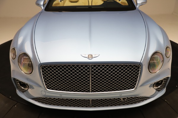 New 2020 Bentley Continental GTC V8 for sale $261,455 at Bugatti of Greenwich in Greenwich CT 06830 21