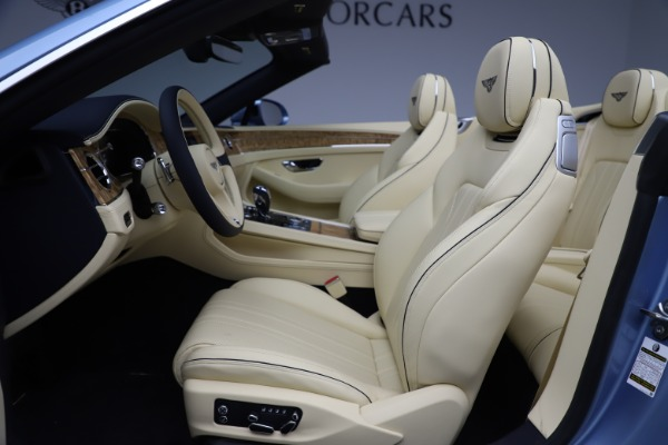 New 2020 Bentley Continental GTC V8 for sale $261,455 at Bugatti of Greenwich in Greenwich CT 06830 26