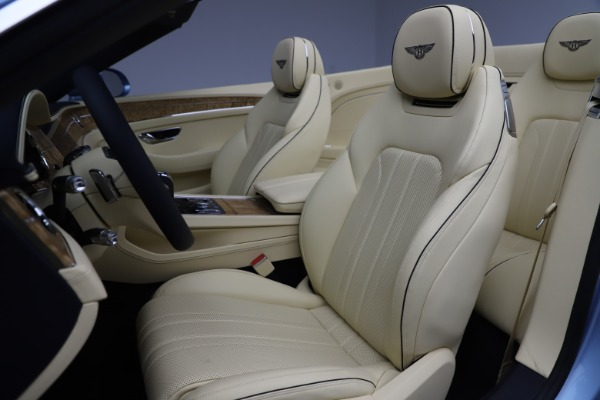 New 2020 Bentley Continental GTC V8 for sale $261,455 at Bugatti of Greenwich in Greenwich CT 06830 27
