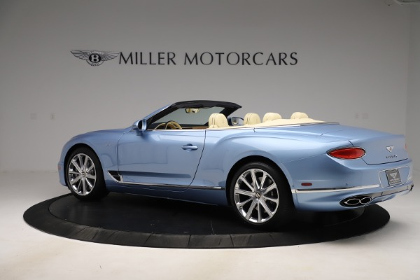 New 2020 Bentley Continental GTC V8 for sale $261,455 at Bugatti of Greenwich in Greenwich CT 06830 3