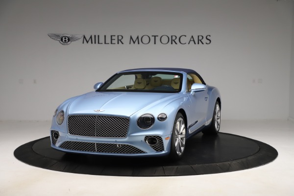 New 2020 Bentley Continental GTC V8 for sale $261,455 at Bugatti of Greenwich in Greenwich CT 06830 9