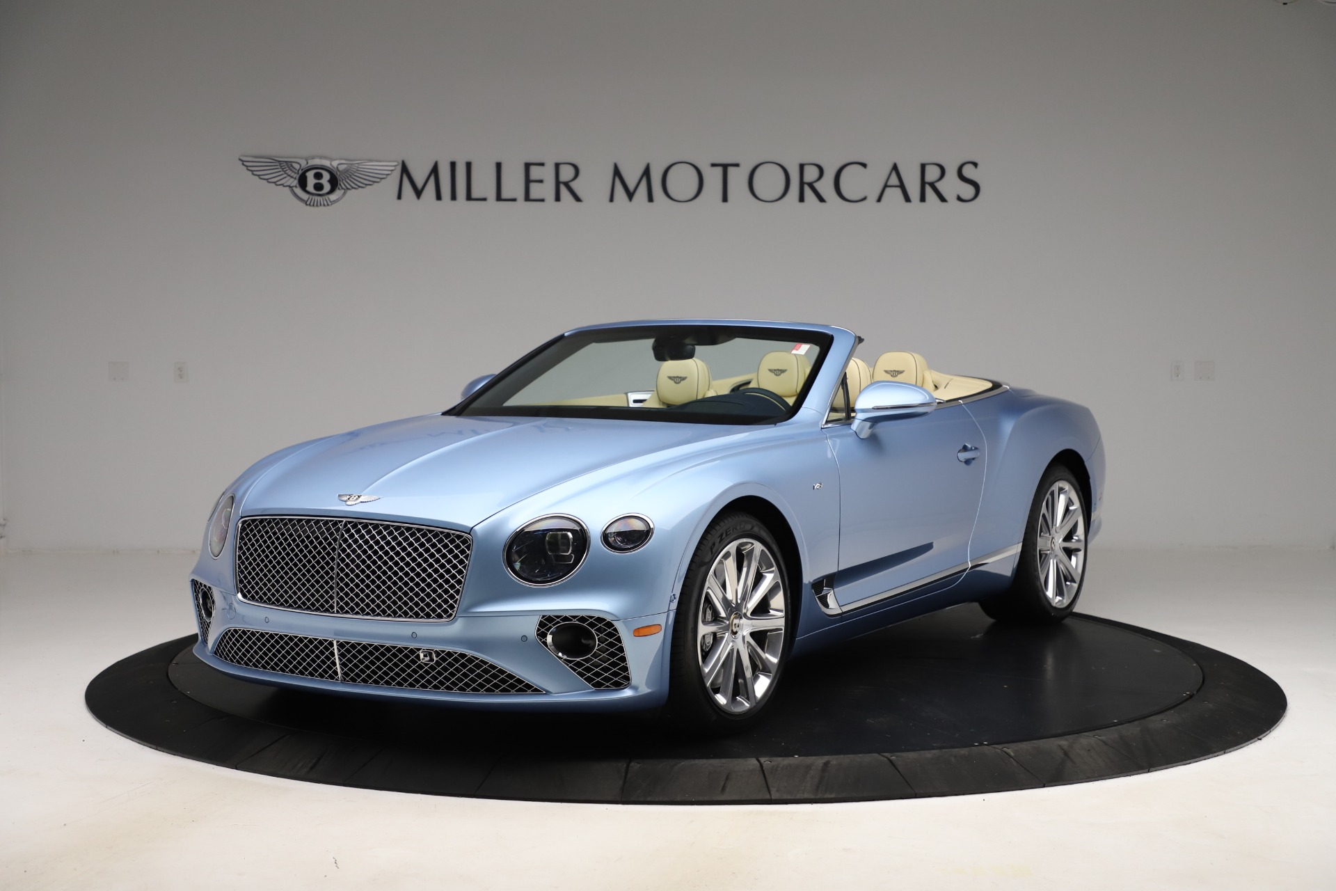 New 2020 Bentley Continental GTC V8 for sale $261,455 at Bugatti of Greenwich in Greenwich CT 06830 1