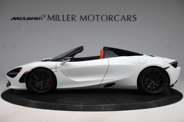 New 2020 McLaren 720S Spider Performance for sale $386,289 at Bugatti of Greenwich in Greenwich CT 06830 2