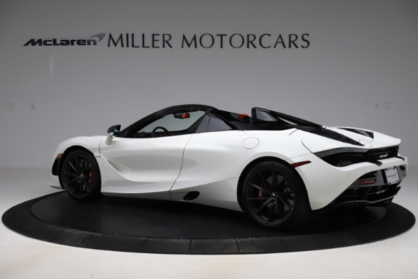 New 2020 McLaren 720S Spider Performance for sale $386,289 at Bugatti of Greenwich in Greenwich CT 06830 3