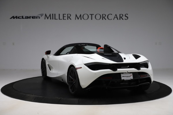 New 2020 McLaren 720S Spider Performance for sale $386,289 at Bugatti of Greenwich in Greenwich CT 06830 4