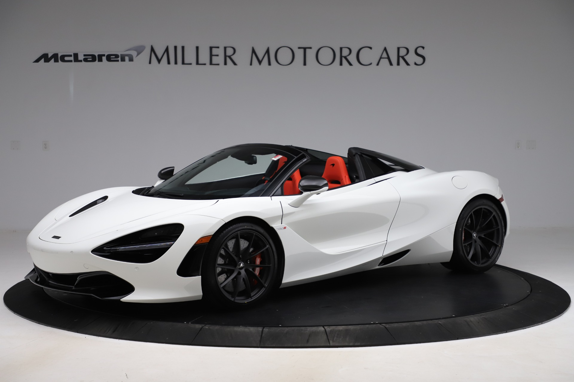 New 2020 McLaren 720S Spider Performance for sale $386,289 at Bugatti of Greenwich in Greenwich CT 06830 1