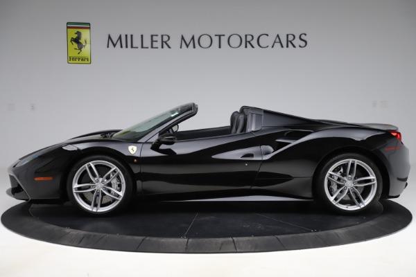 Used 2016 Ferrari 488 Spider for sale $242,900 at Bugatti of Greenwich in Greenwich CT 06830 3
