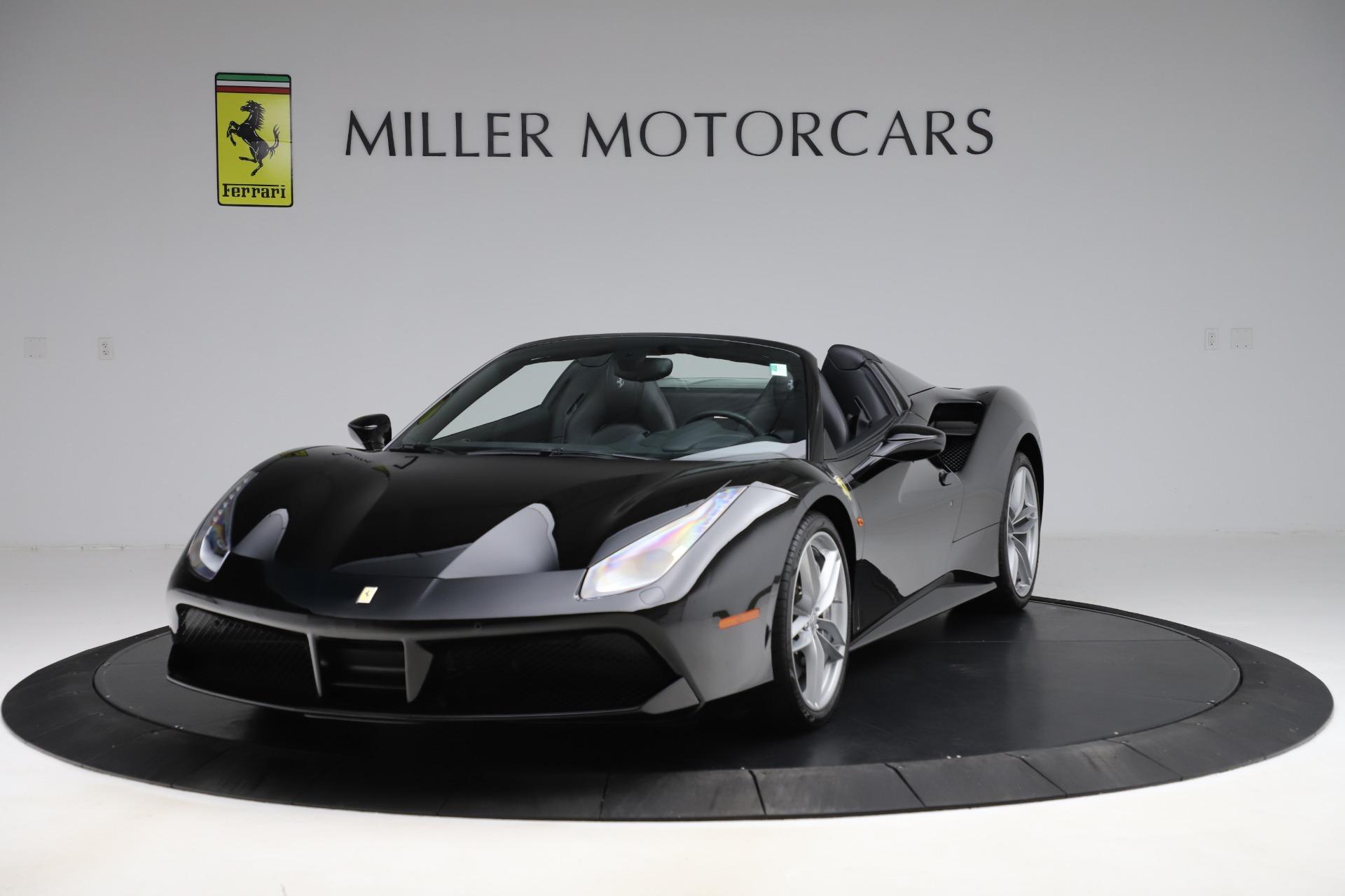 Used 2016 Ferrari 488 Spider for sale $242,900 at Bugatti of Greenwich in Greenwich CT 06830 1