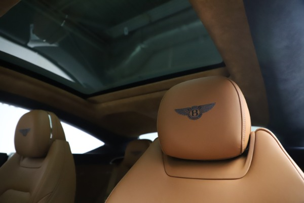 New 2020 Bentley Continental GT W12 for sale $260,770 at Bugatti of Greenwich in Greenwich CT 06830 21