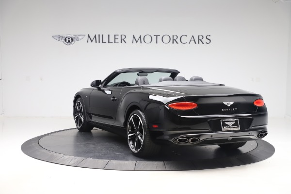 New 2020 Bentley Continental GTC V8 for sale $255,605 at Bugatti of Greenwich in Greenwich CT 06830 5