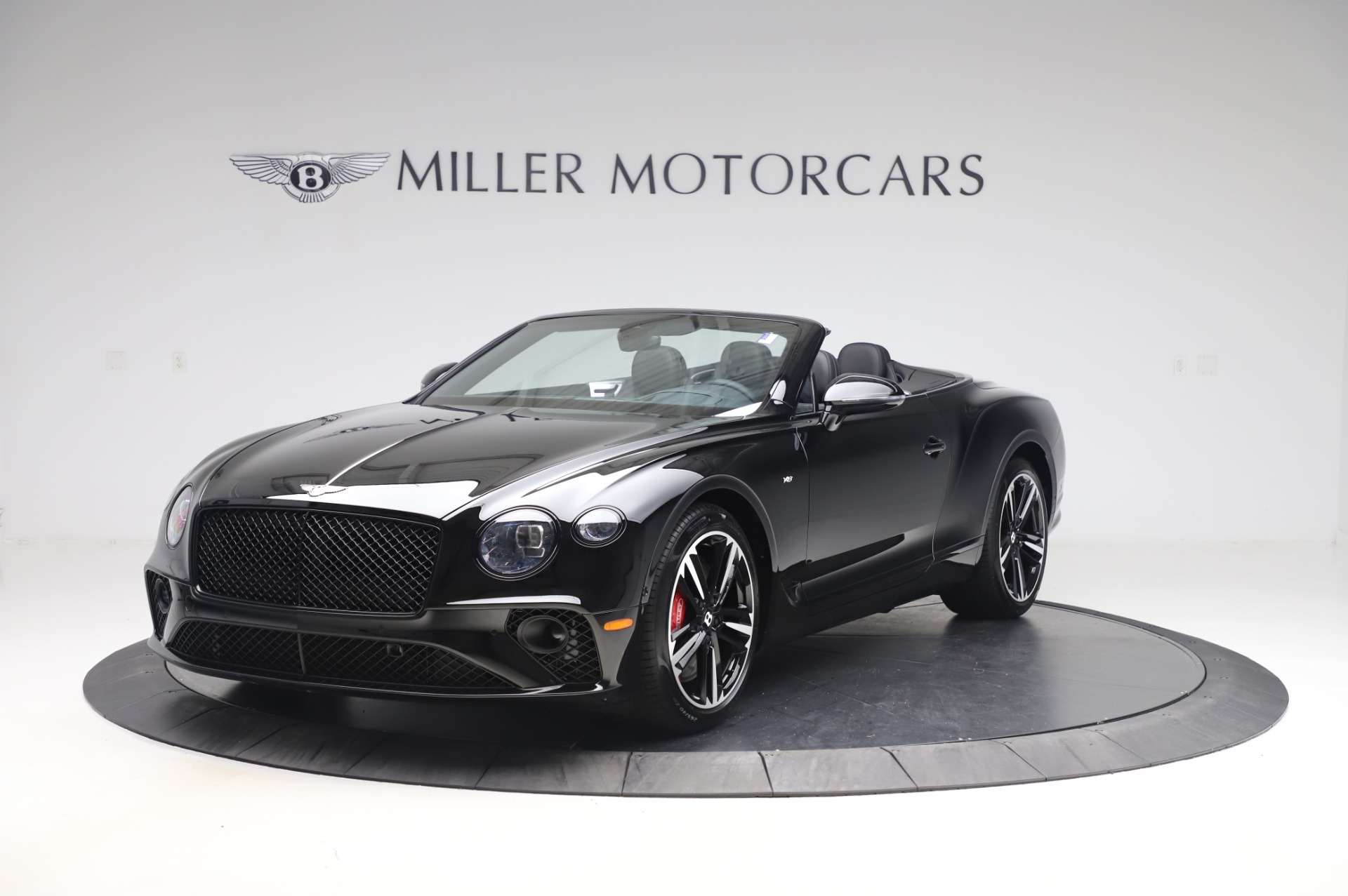 New 2020 Bentley Continental GTC V8 for sale $255,605 at Bugatti of Greenwich in Greenwich CT 06830 1