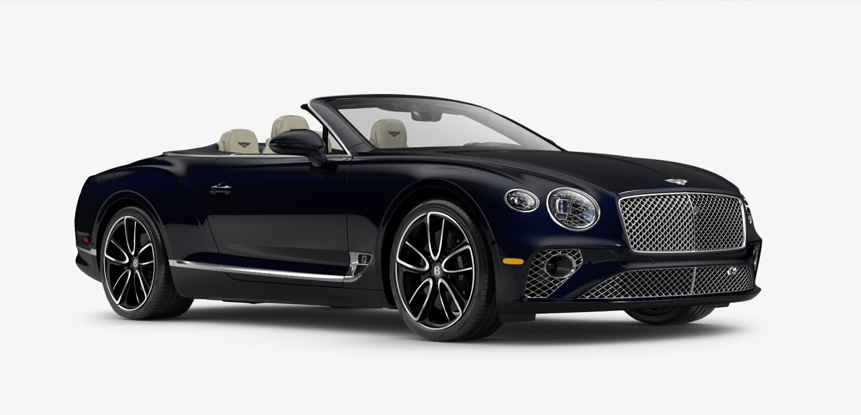 New 2020 Bentley Continental GTC W12 for sale Sold at Bugatti of Greenwich in Greenwich CT 06830 1