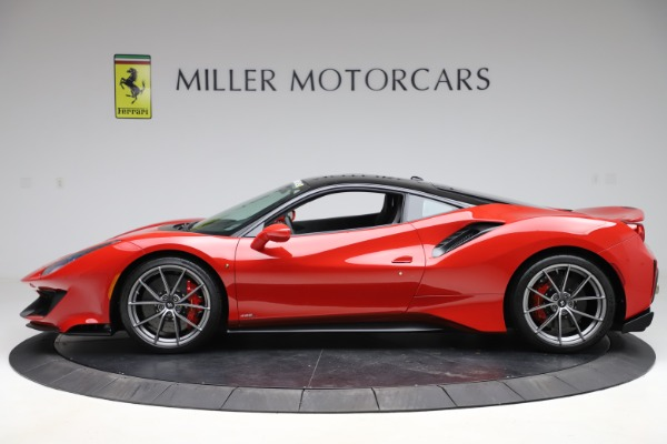 Used 2019 Ferrari 488 Pista for sale $451,702 at Bugatti of Greenwich in Greenwich CT 06830 3