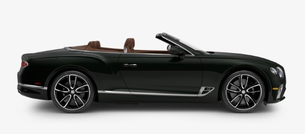 New 2020 Bentley Continental GTC W12 for sale $300,745 at Bugatti of Greenwich in Greenwich CT 06830 2