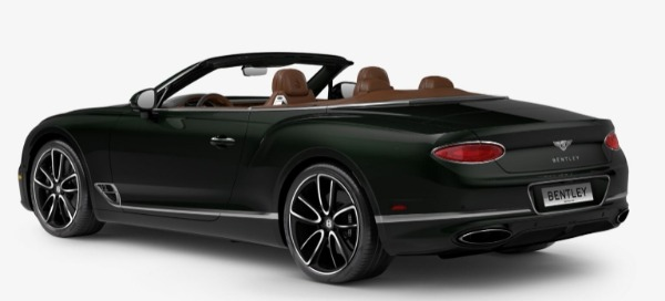 New 2020 Bentley Continental GTC W12 for sale $300,745 at Bugatti of Greenwich in Greenwich CT 06830 3