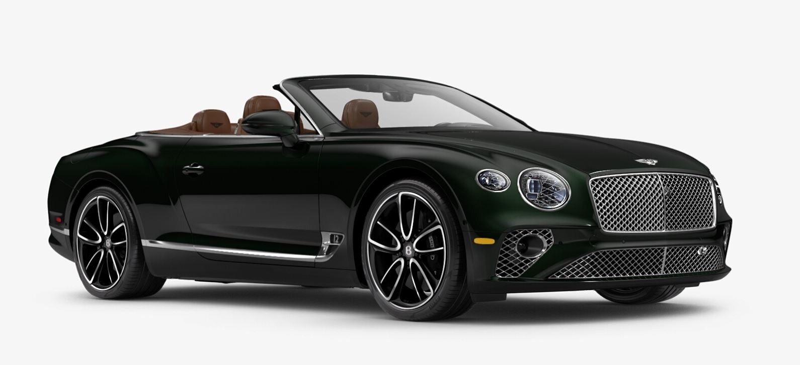 New 2020 Bentley Continental GTC W12 for sale $300,745 at Bugatti of Greenwich in Greenwich CT 06830 1