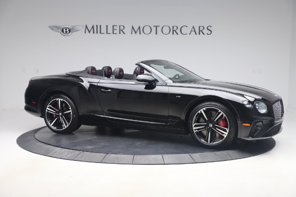 New 2020 Bentley Continental GTC V8 for sale $275,045 at Bugatti of Greenwich in Greenwich CT 06830 10