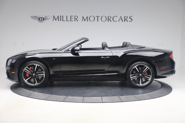 New 2020 Bentley Continental GTC V8 for sale $275,045 at Bugatti of Greenwich in Greenwich CT 06830 3