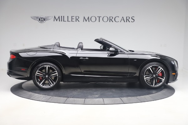 New 2020 Bentley Continental GTC V8 for sale $275,045 at Bugatti of Greenwich in Greenwich CT 06830 9