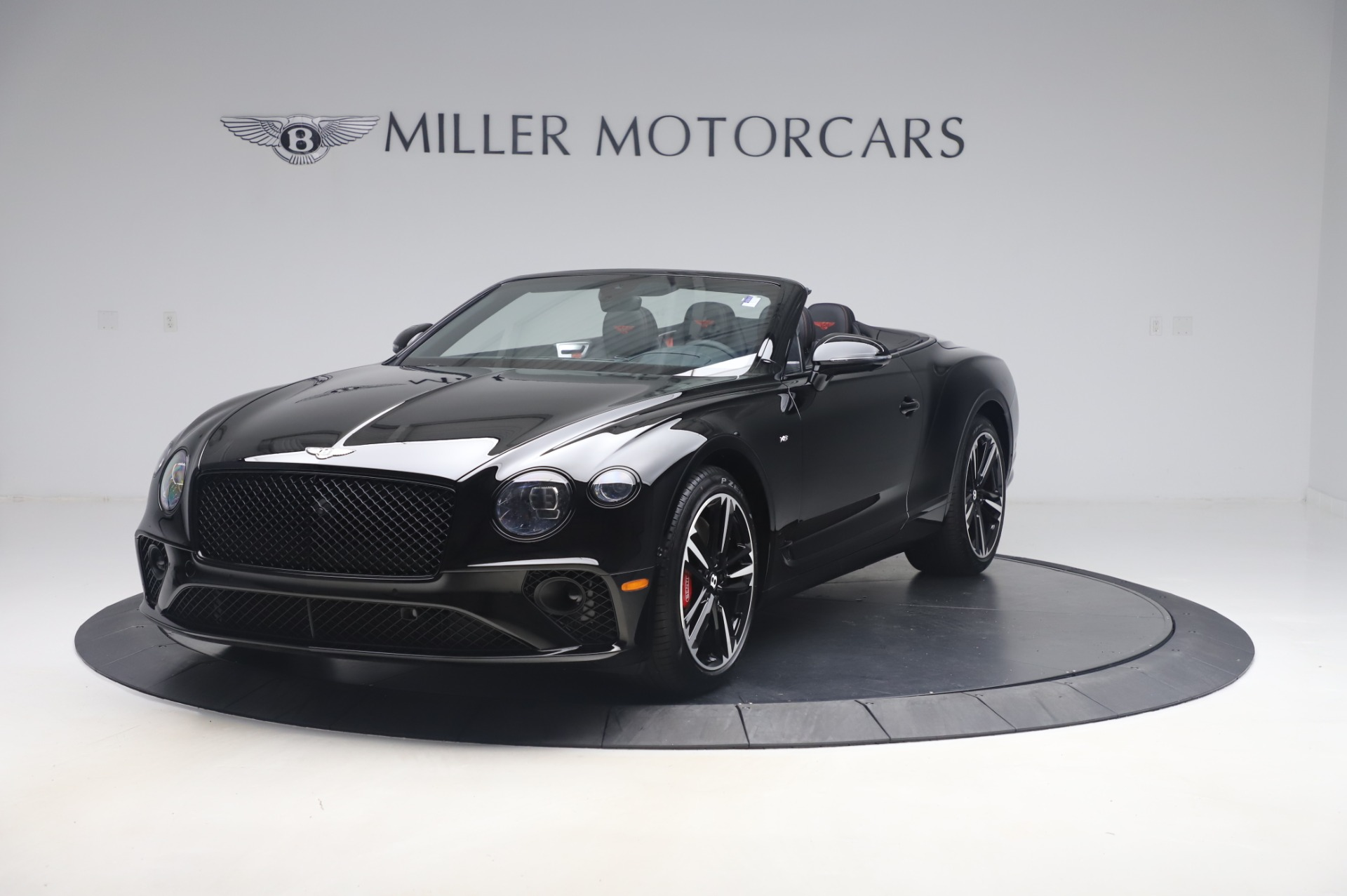 New 2020 Bentley Continental GTC V8 for sale $275,045 at Bugatti of Greenwich in Greenwich CT 06830 1