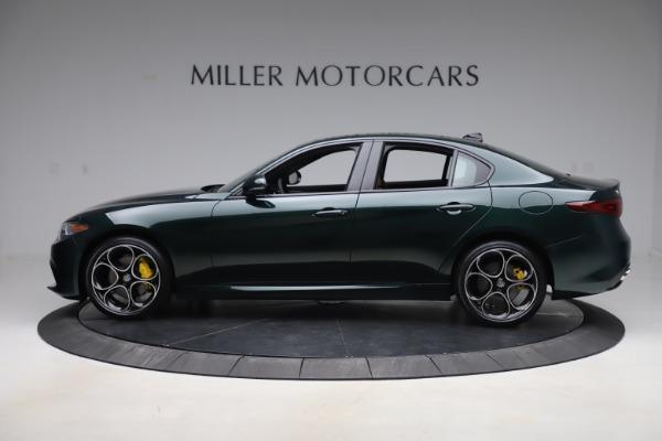 New 2020 Alfa Romeo Giulia Ti Sport Q4 for sale Sold at Bugatti of Greenwich in Greenwich CT 06830 3