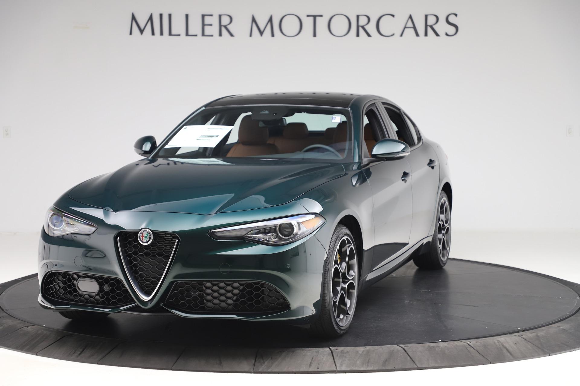 New 2020 Alfa Romeo Giulia Ti Sport Q4 for sale Sold at Bugatti of Greenwich in Greenwich CT 06830 1