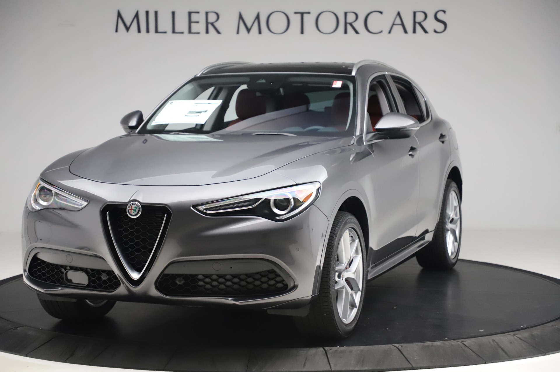 New 2020 Alfa Romeo Stelvio Ti for sale $54,995 at Bugatti of Greenwich in Greenwich CT 06830 1